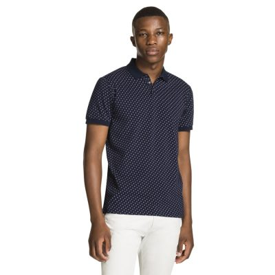 Fashion 4 Men - yd. Sully Polo Navy Xs