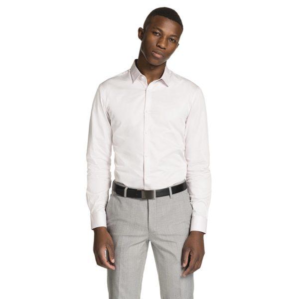 Fashion 4 Men - yd. Varrick Slim Fit Dress Shirt Pink Xs