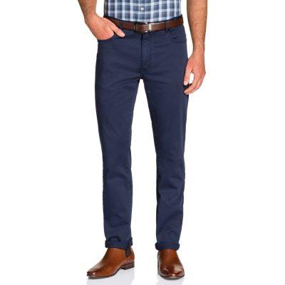 Fashion 4 Men - Tarocash Benny Stretch 5 Pkt Pant Blue 34