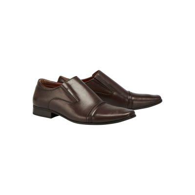 Fashion 4 Men - Tarocash Bourbon Slip On Shoe Chocolate 12