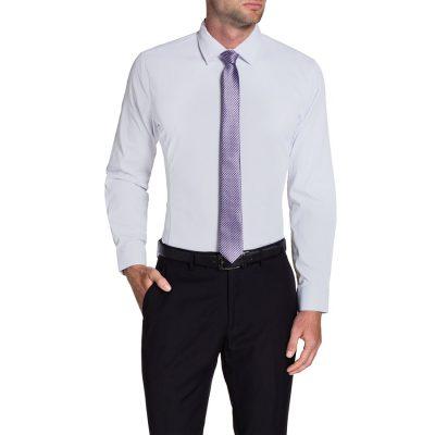 Fashion 4 Men - Tarocash Cooper Dress Shirt Lilac Xl
