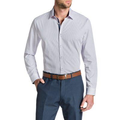 Fashion 4 Men - Tarocash Floyd Print Shirt Pink 4 Xl