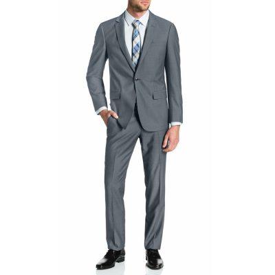 Fashion 4 Men - Tarocash Lincoln 1 Button Suit Pewter 34