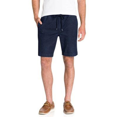 Fashion 4 Men - Tarocash Marly Drawstring Short Indigo 36