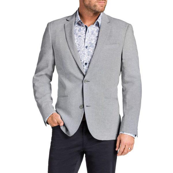 Fashion 4 Men - Tarocash Troy Linen Blend Jacket Natural Xs