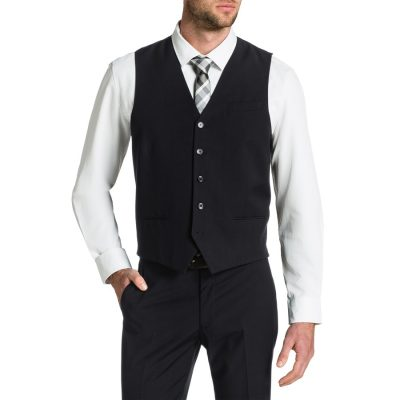 Fashion 4 Men - Tarocash Ultimate Waistcoat Black Xs