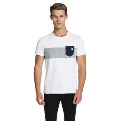 Fashion 4 Men - yd. Batch Tee White 2 Xs