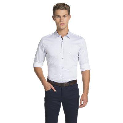 Fashion 4 Men - yd. Bodie Slim Fit Shirt White M