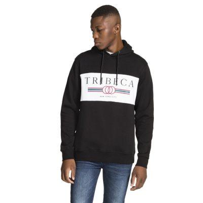 Fashion 4 Men - yd. Camo Panel Hoodie Black L