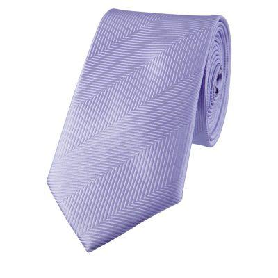 Fashion 4 Men - yd. Chevron 6.5 Cm Tie Lilac One