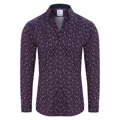 Fashion 4 Men - yd. Hadley Shirt Burgundy M