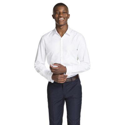 Fashion 4 Men - yd. Jax Dress Shirt White L