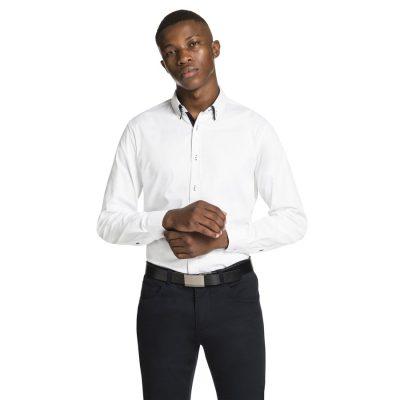 Fashion 4 Men - yd. Jonno Shirt White M