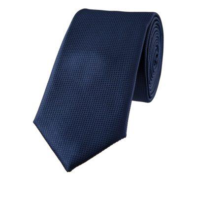 Fashion 4 Men - yd. Lewis Textured 6.5 Cm Tie Dark Blue One