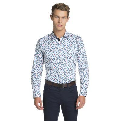 Fashion 4 Men - yd. Paulo Slim Fit Shirt Multi M