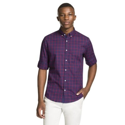 Fashion 4 Men - yd. Rizzle Shirt Blue S