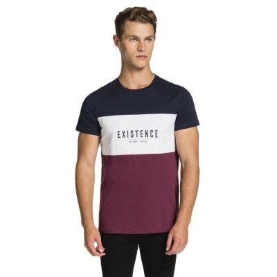 Fashion 4 Men - yd. Street Sports Tee Multi S