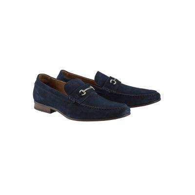 Fashion 4 Men - yd. Tuscan Loafer Dark Blue 7