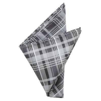 Fashion 4 Men - yd. Womack Pocket Square Black One