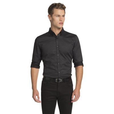 Fashion 4 Men - yd. Zappa Shirt Black S