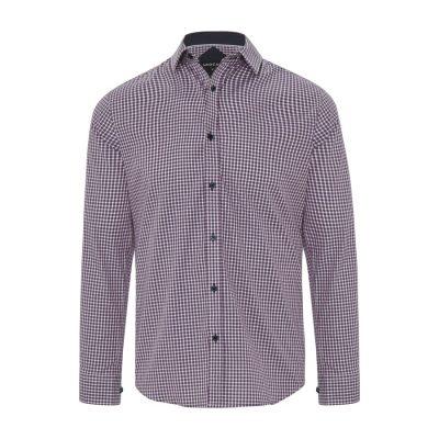 Fashion 4 Men - Tarocash Alix Check Shirt Musk M