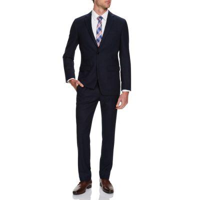 Fashion 4 Men - Tarocash Cleveland Textured 2 Button Suit Midnight 44