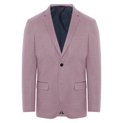 Fashion 4 Men - Tarocash Clooney Textured Blazer Musk M