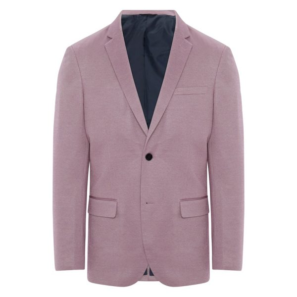Fashion 4 Men - Tarocash Clooney Textured Blazer Musk Xs