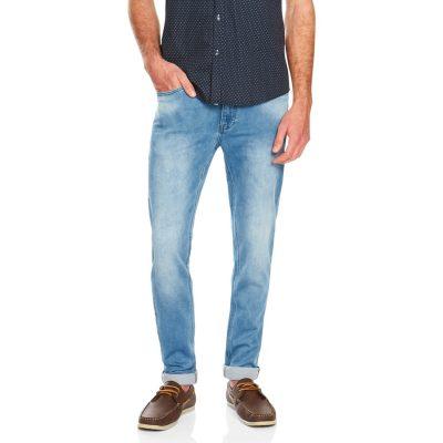 Fashion 4 Men - Tarocash Corgan Tapered Jean Sky 32