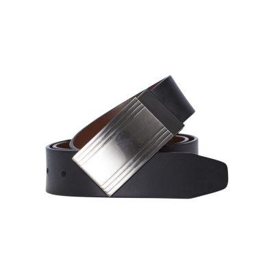 Fashion 4 Men - Tarocash Dali Reversible Belt Black/Cognac 40