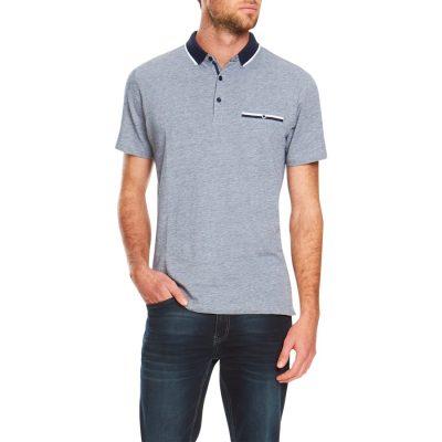 Fashion 4 Men - Tarocash Daly Pique Polo Navy S