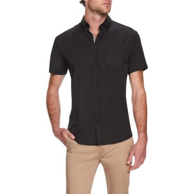 Fashion 4 Men - Tarocash Dempsey Stretch Shirt Black Xxl