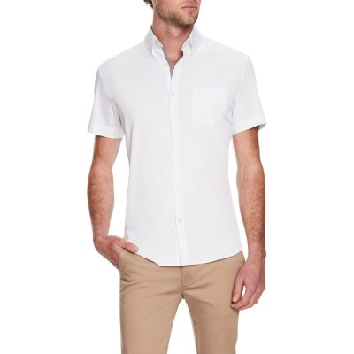Fashion 4 Men - Tarocash Dempsey Stretch Shirt White M