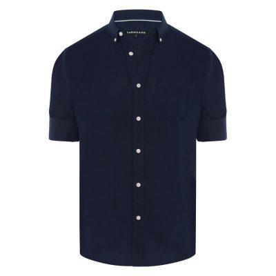 Fashion 4 Men - Tarocash Elliott Linen Blend Shirt Navy S
