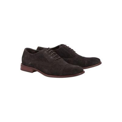 Fashion 4 Men - Tarocash Graham Suede Shoe Chocolate 12