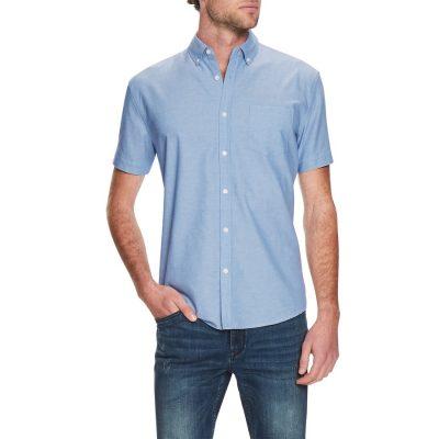 Fashion 4 Men - Tarocash Hawkings Oxford Shirt Blue Xxxl