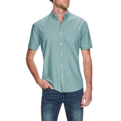 Fashion 4 Men - Tarocash Hawkings Oxford Shirt Sage S