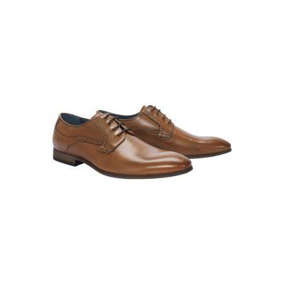 Fashion 4 Men - Tarocash Hubbard Dress Shoe Tan 9