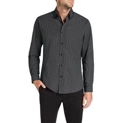 Fashion 4 Men - Tarocash Jorah Check Shirt Black 5 Xl