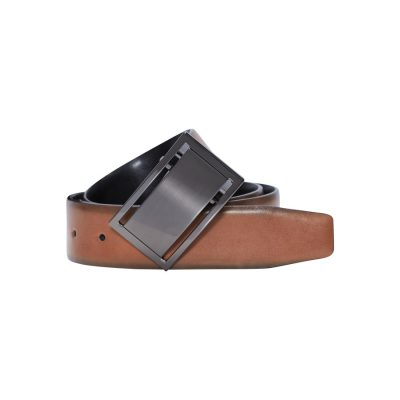 Fashion 4 Men - Tarocash Kahlo Reversible Belt Tan/Black 40