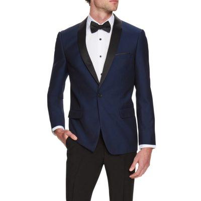 Fashion 4 Men - Tarocash King Tuxedo Jacket Navy S