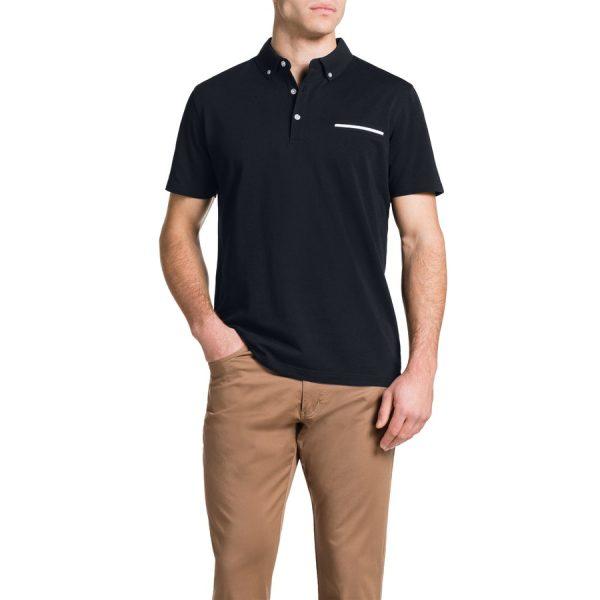 Fashion 4 Men - Tarocash Pique Polo Navy 5 Xl