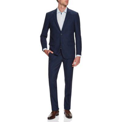 Fashion 4 Men - Tarocash President Check 2 Button Suit Royal 50