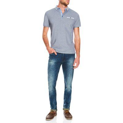 Fashion 4 Men - Tarocash Ralph Pique Polo Navy Xxxl