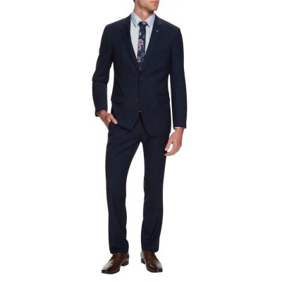 Fashion 4 Men - Tarocash Roosevelt 2 Button Suit Navy 42