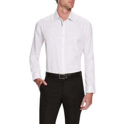 Fashion 4 Men - Tarocash Toronto Dress Shirt White 5 Xl