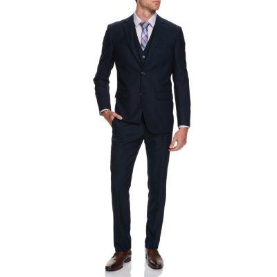 Fashion 4 Men - Tarocash Truman 2 Button Suit Navy 40