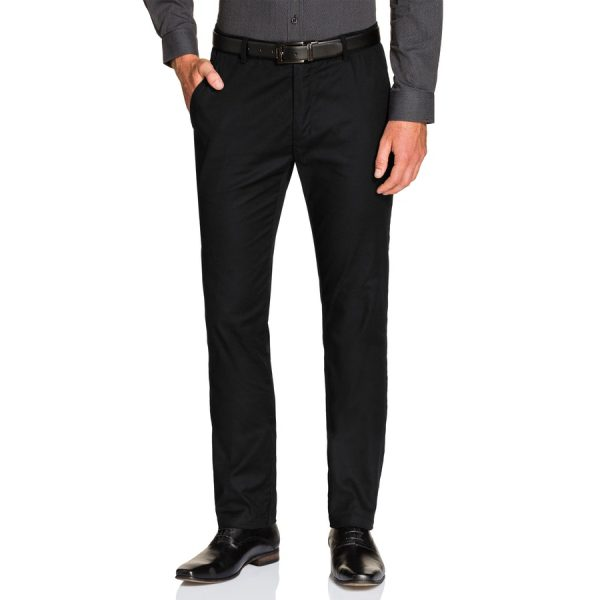 Fashion 4 Men - Tarocash Wellington Stretch Pant Black 40
