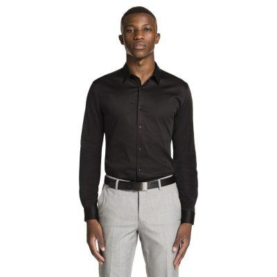 Fashion 4 Men - yd. Berners Muscle Fit Shirt Black Xl