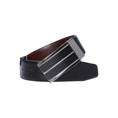 Fashion 4 Men - yd. Jase Dress Belt Black/Choc 42